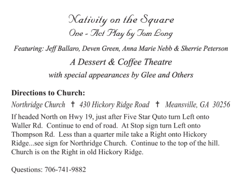 directions nativity on square